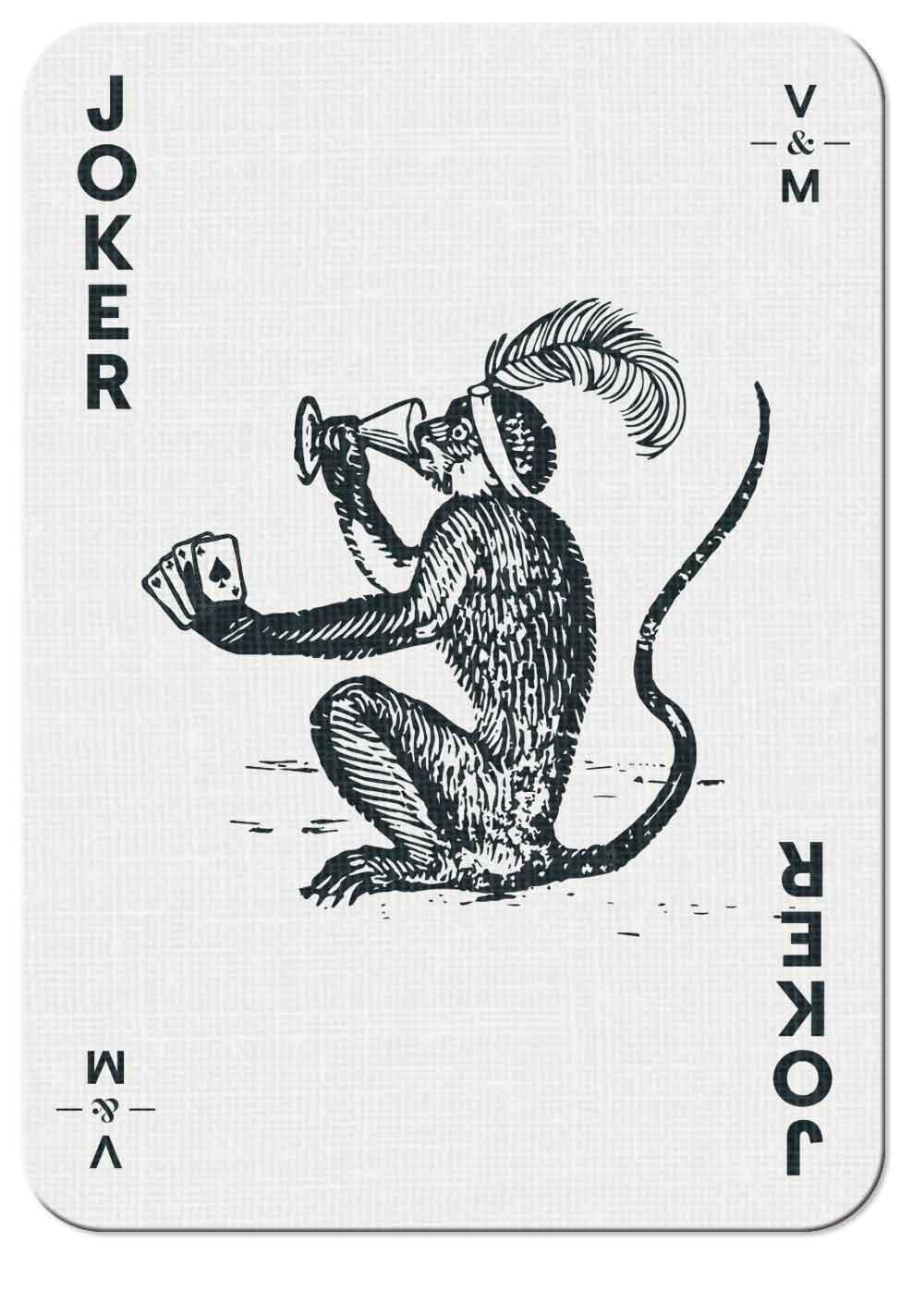 Vin-try & Mercer playing card —Joker 02