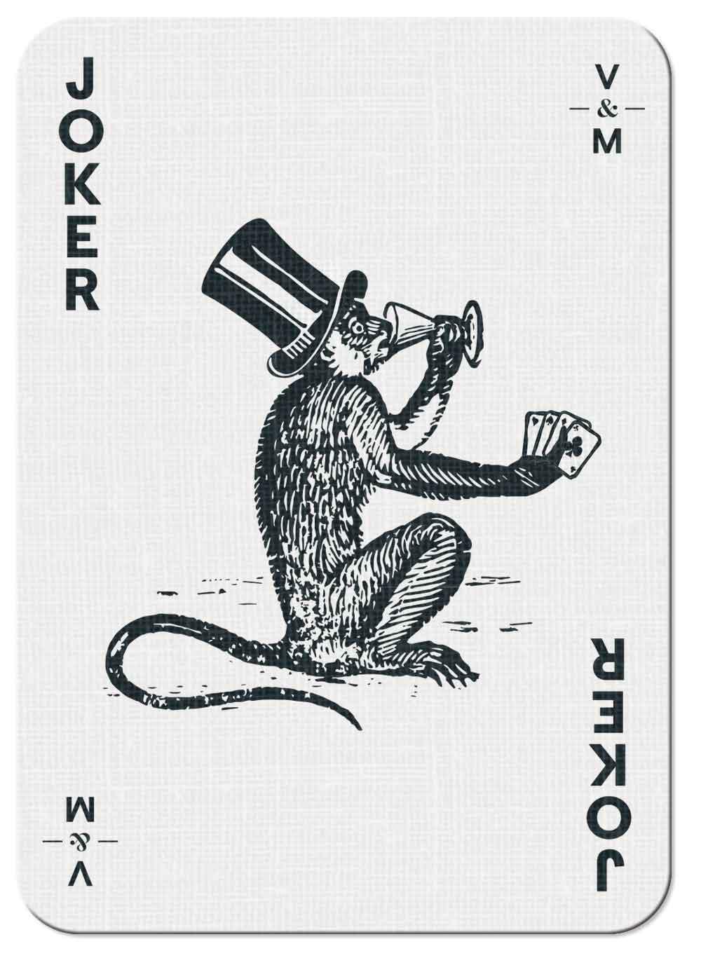 Vintry & Mercer playing card — Joker 01