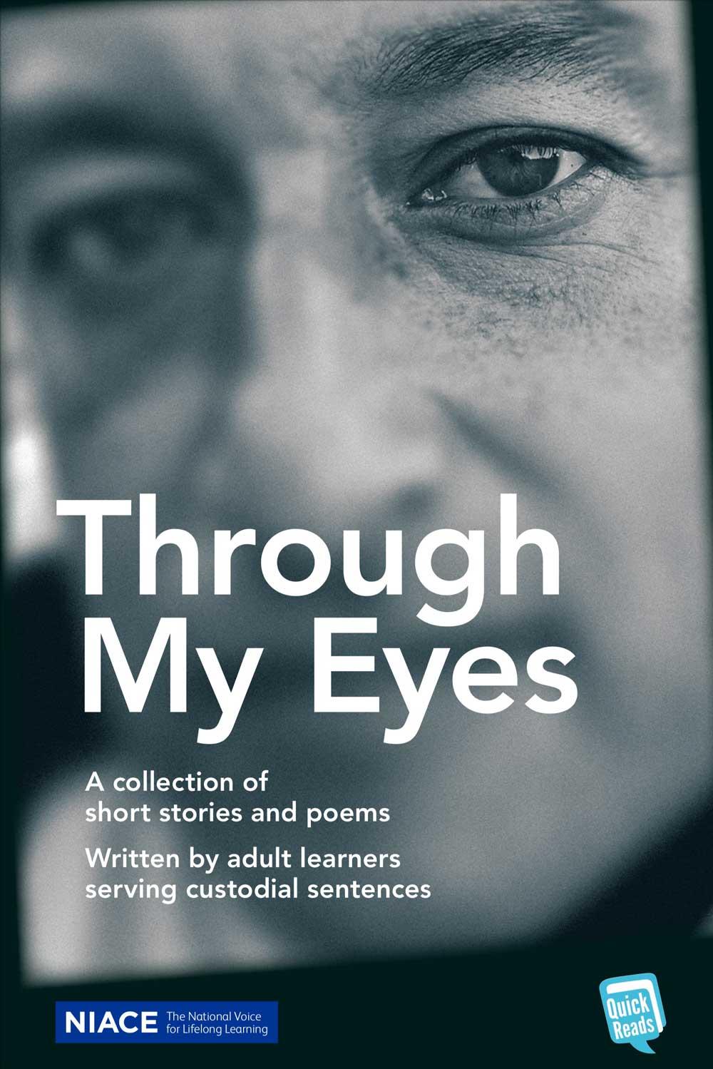 Through My Eyes book cover design