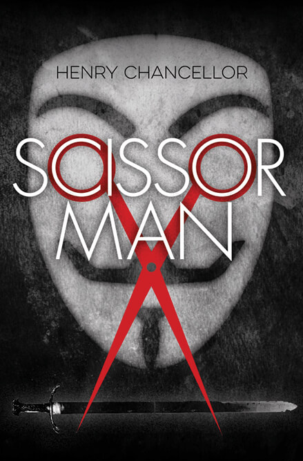 Scissorman bookcover concept design